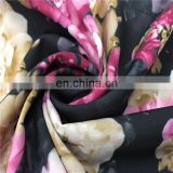 Custom Design African Fabrics Digital Print 100%Tencel Fabric For Evening Dress