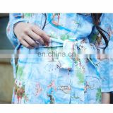 Chinavictor Nice Pattern 100% Cotton Adult Free Size Japan Pajamas