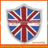 mini UK national flag fabric badge