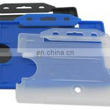 Hot Selling Newest Hard Plastic ID Holder