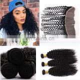 raw burmese curly hair transparent lace frontal with bundles wholesale virgin hair vendors