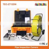 Well pipe inspection camera TEC-Z712DN Sewer Pipe Inspection Camera
