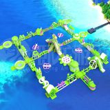 inflatable sea trampoline,inflatable floating water park for commercial sale