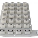 Carbon Pill Conductive Silicone Keyboard