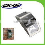 Steelness steel Super bright Solar Power Motion Sensor LED Light for outdoor                                                                         Quality Choice