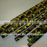 carbon fiber telescopic tube in colorful surface