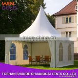 Aluminum pvc fabric 6x6m pagoda marquee for party event commercial tent                                                                         Quality Choice