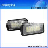 cheap china wholesale for Benz LED car number plate lamp/ license plate lamp canbus no error code