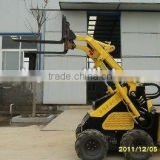 lifting fork of skid steer loader