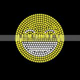 bling emoji rhinestone iron on transfers smiley face wholesale