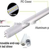 High light efficiency , various color temperature 2FT 3FT 4FT 5FT UL+DLC approved T8 LED tube