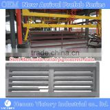 No. 1 henan victory Moveable Concrete cattle cow Dung Leakage slats machine equipment for pig cow duck dung machine