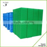 2015 new product plastic bakery tray stackable crates