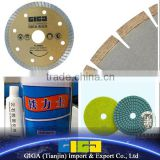 marble adhesive glue\polishing pad\wall mount bracket\diamond saw blade\marble saw blade