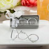 2016 Bridal Shower Gifts Infinity Design Silver Metal Bottle Opener - Wedding Favors Gifts for Guests