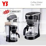 0.7L Automatic electric coffee maker with timer programmable                                                                         Quality Choice