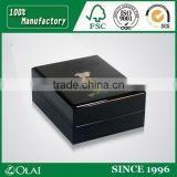 black high gloss box for perfume bottle Image