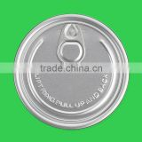 aluminium easy open can lid for PVC can