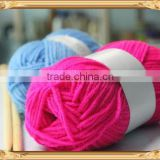 Small Ball 100%Acrylic Knitting Crochet Yarn / Wool Yarn With Tapes For Scarves