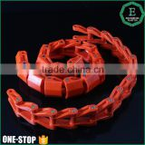 OEM engineering heat treatment injection mould Polymide ERTALON durable flexing convey plastic roller chain