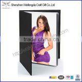 Exquisite PU Leather Photo Album Cover With PVC Inner Pages                                                                         Quality Choice