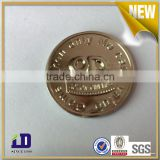 Wholesale market custom custom made high quality metal token coin