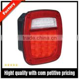 Oval Mirror Led bus tail lights