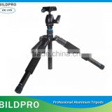BILDPRO Lightweight Tripod Camera Professional Aluminum Tripod Video Stand