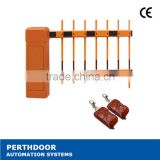 AC Automatic Rubber Traffic Barrier/Automatic car parking system traffic barrier