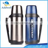 1.8L large capacity sport travel vacuum stainless steel thermos bottle