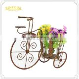 Garden balcony bicycle flower pot removable holder for home deco