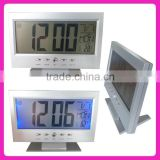 Large LCD display electronic calendar,Backlit calendar
