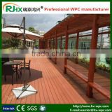 Decorative material in building field with eco-friendly wood plastic composite grape pergola