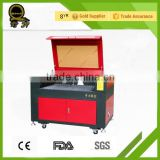 China supply best price acrylic laser small acrylic QL-1410 glass led light base 3d crystal laser co2 laser router