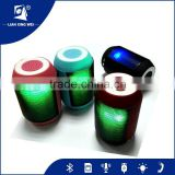 Hand-Free Brand Bluetooth Speaker with colorful Led Light and TF Card