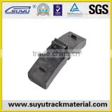 Railway fasteners manufactures in china railway brake shoe