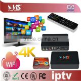 IPTV Streaming full hd media player smart tv box android live streaming