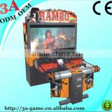 "52""55"" Rambo Coin Operated Large Arcade Video Shooting Simulator Game Machine"