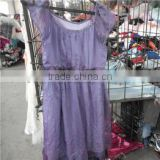 Mixed Wholesale ladies silk dress Summer Used Clothing