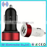 Charger & Car Air Purifier 5V 2.1A Dual USB Car Charger With LED Chian Supplier