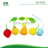 fruit shape tea bag, tea strainer