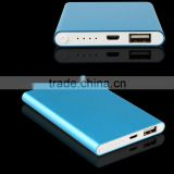 5000mah Ultra slim Portable Charger External Battery Pack Power Bank Smart Charging for iPhone 6 Plus