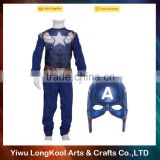 Latest design adult carnival costume masquerade performance Captain America cosplay costume