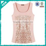 Womens Bling Tees/Tank Top Shirt (lyt-060045)