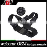 JGJ Adjustable Elastic Head Belt Strap Mounts with 3 pcs Anti-Slide Glue for Go Pro Hero 1/2/3