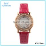 Alibaba genuine leather strap beautiful ladies watch