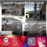 3m-6m mobile aluminium scaffolding tower