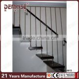 prefabricated stairs outdoor with oak wood treads