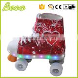 guangdong wholesale pvc wheel flashing kids electric quad skate                                                                         Quality Choice