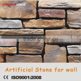 Nature texture cement material light weight manufactured decorative stone for wall cladding